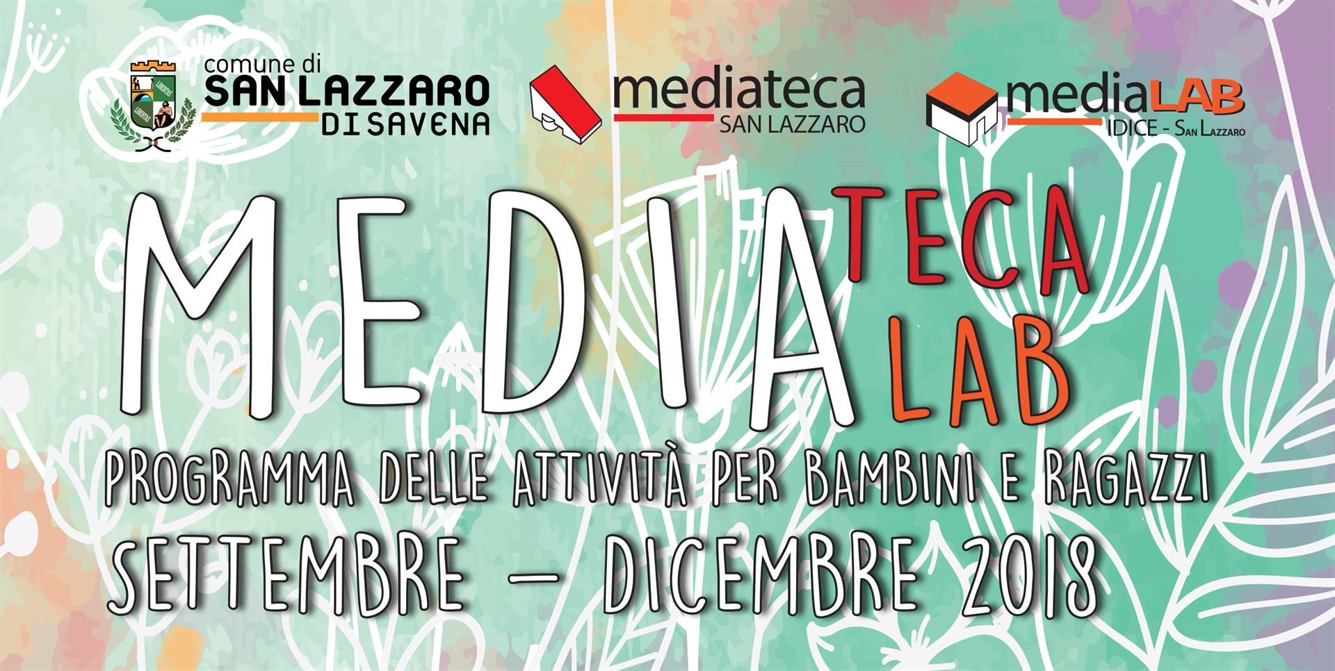 Corsi Mediateca e Medialab Ragazzi sett dic 2018