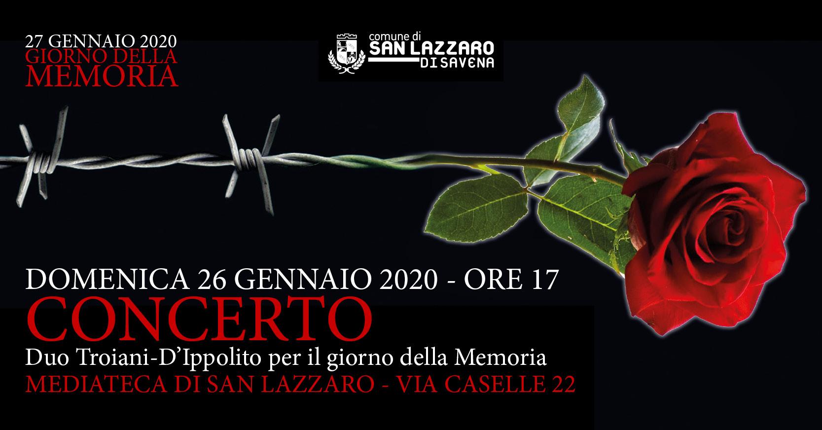 Concerto per il Giorno della Memoria